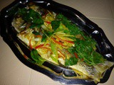Ezcr#46 - braised threadfin fish with basil leaves
