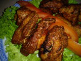 Fried belacan chicken