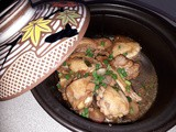 Ginger shallots chicken