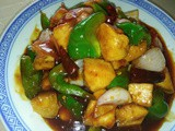 Kong po chicken with rice