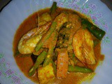 Nyonya mixed vegetable curry