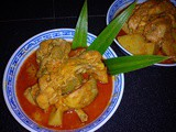 Pandan curry chicken