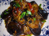 Spare ribs in black bean sauce