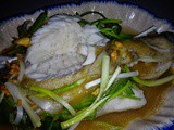 Steamed Fish With Fragrant Ginger Sauce