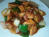 Stir fry chilli chicken