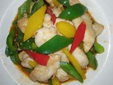 Sweet sour chicken fillet