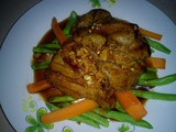 Thai garlic black pepper pork tenderloin