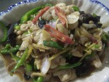 Thai moo phad khing [ginger fried pork]