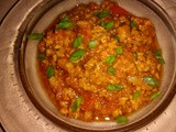 Thai spicy tomato minced meat