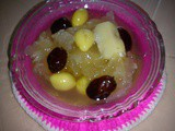 Thermal cooker - gingko nut and waterchestnut dessert