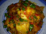 Tomato curry fish
