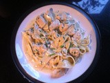 Chicken, Dolcelatte and pappardelle