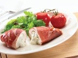 Stuffed chicken breast with parma ham