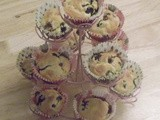 Blueberry and Lemon Curd Muffins