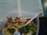Warm Salad Series: Golden Bulgar Wheat Salad