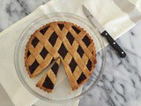 Jam crostata (tart) with kamut shortcrust