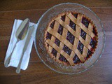 Jam crostata (tarte) with spelt and olive oil crust