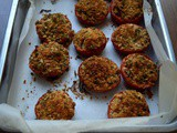 Pomodori gratinati (roasted crumbled tomatoes)