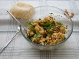 Roasted Cauliflower and Almond Salad