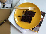 Super healthy chocolate cake aka wacky cake (no eggs, butter, dairy and ... chocolate)