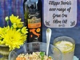 A Summer Special Cous Cous Salad Flavoured with Filippo Berio's Gran Cru Olive Oil