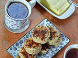 Cheesy Masala Scones with Chia Bia Seeds