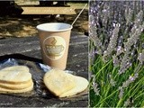 Day 54: Coffee & Lavender Cookies at a Lavender Farm in Surrey, uk