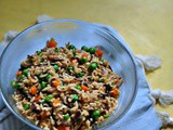 Jeera Fried Rice with Tilda's Brown Basmati & Wild Rice & Mallika Basu's Tilda Supper Club