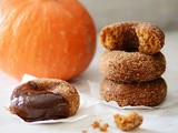 Pumpkin Churro Doughnuts