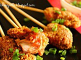 Crunchy Oats Chicken with Sweet and Sour dip