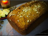 Whole Wheat Honey Oats Bread