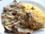 Chicken Parmesan with Mushroom Sauce