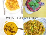 What i ate today (healthy meals)