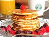 Banana Buttermilk Pancakes – for Pancake Tuesday