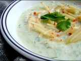 Cucumber Apple Raita