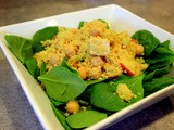 Curried Cous Cous Salad with Chicken & Apple