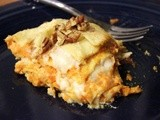 Sweet Potato Lasagna with Brown Butter Cream Sauce