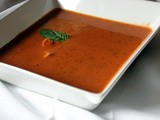 Tomato Basil Soup with Chicken