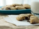 Peanut Butter Banana Chocolate Chunk Cookies