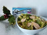 Fusilli broccoli e filetti di salmone