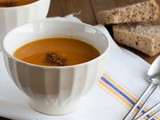 Čorba od pečene šargarepe i crvenog sočiva / Soup with roasted carrots and red lentil