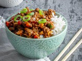 Mleveno meso na kineski način / Minced meat in Chinese way (Kung Pao beef)