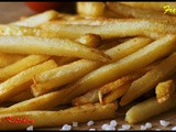 French fries recipe/ How to make crispy french fries/ Homemade french fries recipe