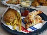 #menùperdue in giro per l'Europa con il Fish and Chips ed i Mini Croissant