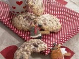 Biscotti avena e cioccolato (oatmeal chocolate chip cookies)