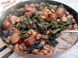 Raštika s bijelim grahom i kobasicom ☆ Collard greens with white beans and sausage