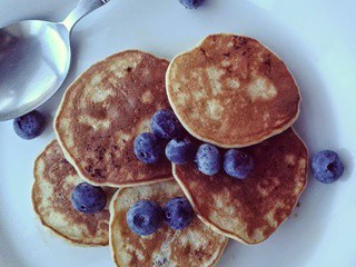 Banana pancakes - gluten free and full of goodness