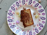 Easter Treat - Marbled banana and chocolate hazelnut loaf, gluten free too