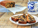 Prune and raisin loaf cake - gluten free