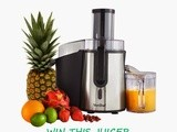 Win a fabulous whole fruit juicer from Domu - Start the new year the right way